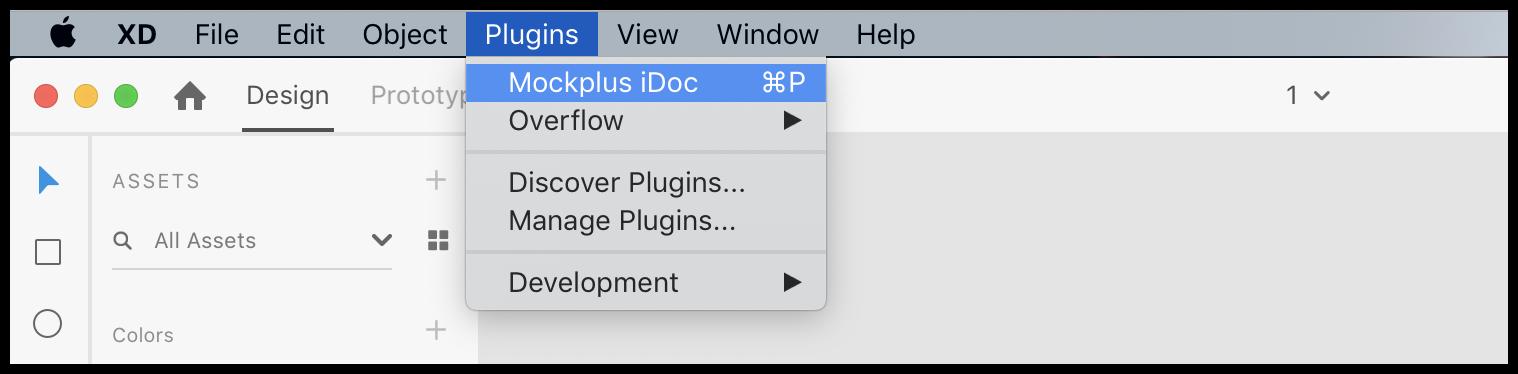 Export Designs from Adobe XD Plugin