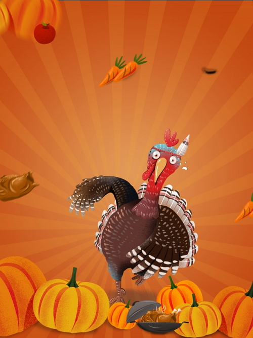 Turkey Background Design for Android App