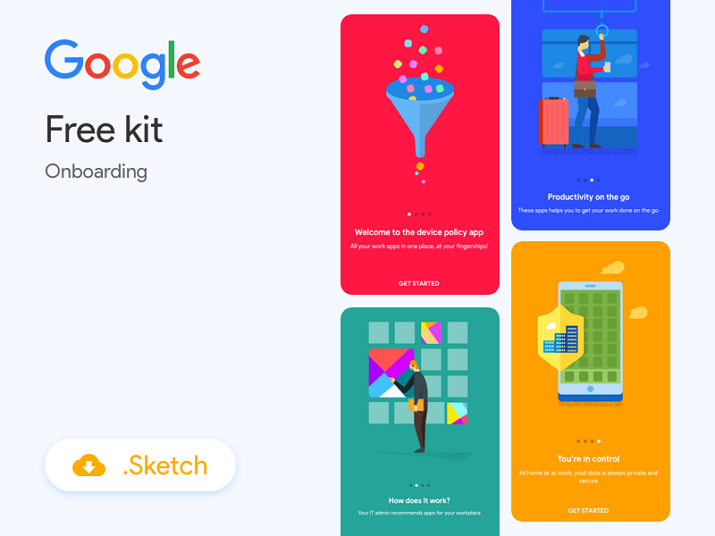 Free Onboarding Illustrations for App