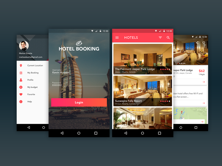 Hotel Booking App Image Background