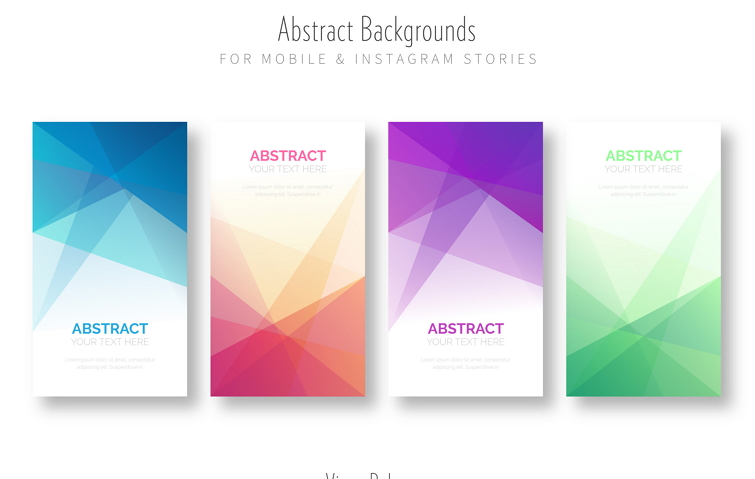 Abstract Background for Mobile App