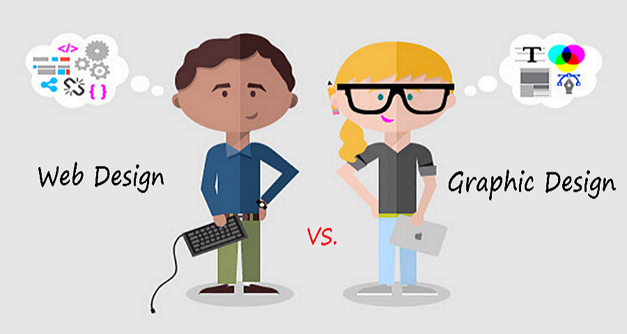 web design vs graphic design
