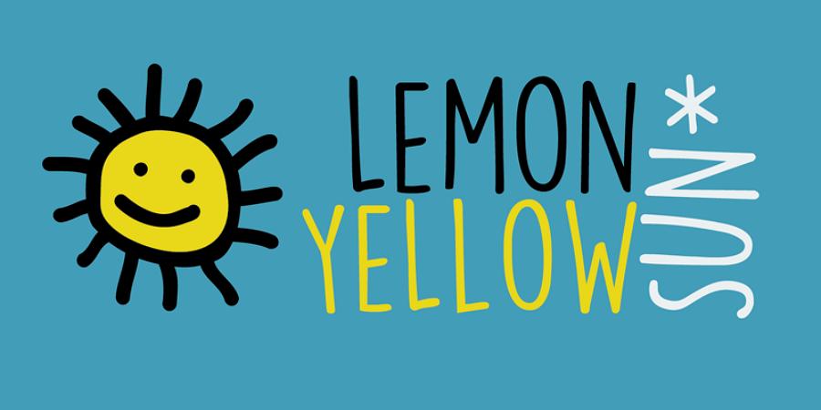 Free DK Lemon Yellow Sun