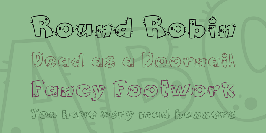 Free Pet Shop Fun Font