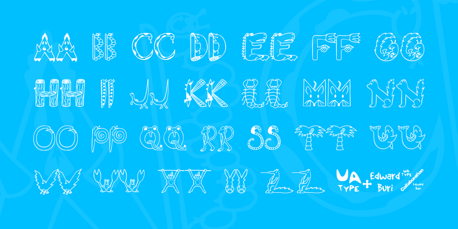 Free EDB Wild Things Fun Font