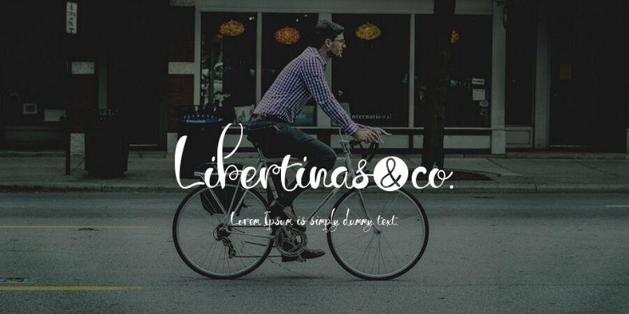 Free Libertinas Font