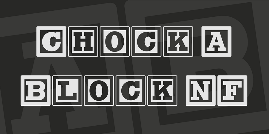 Free Chock A Black NF Font