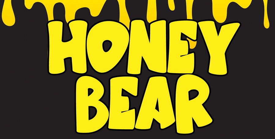 Honey Bear Cartoon Font
