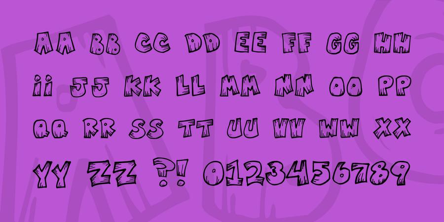 Free Mister Vampire Font