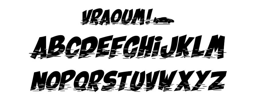 Free Vraoum Font