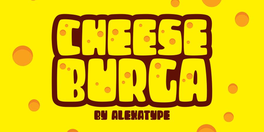 Free Cheese Burga Font