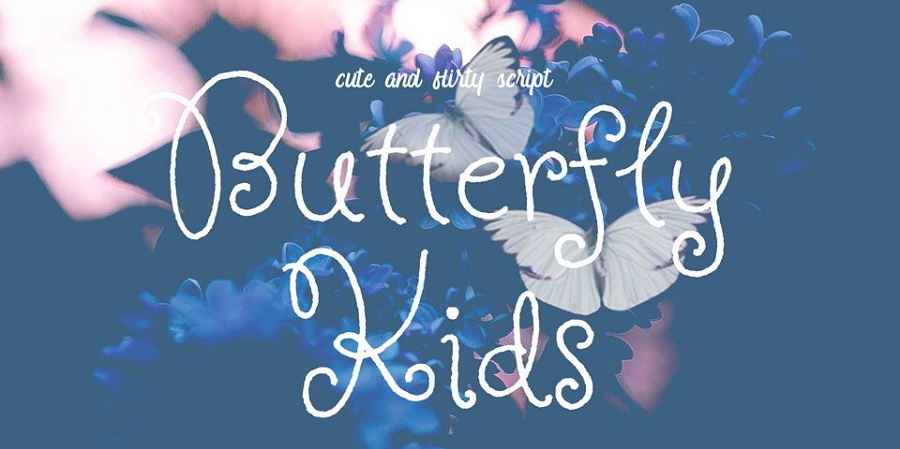 Free Butterfly Font