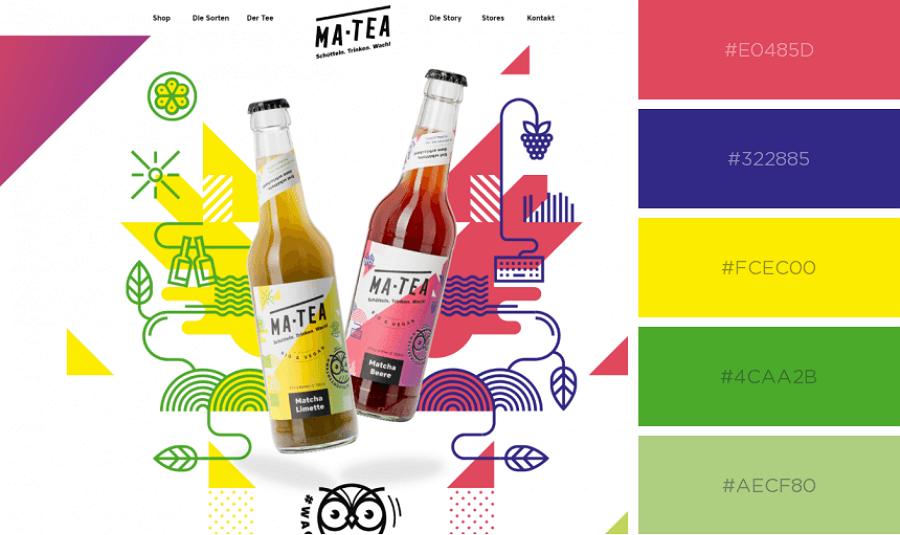 Minimalist Website Color Scheme
