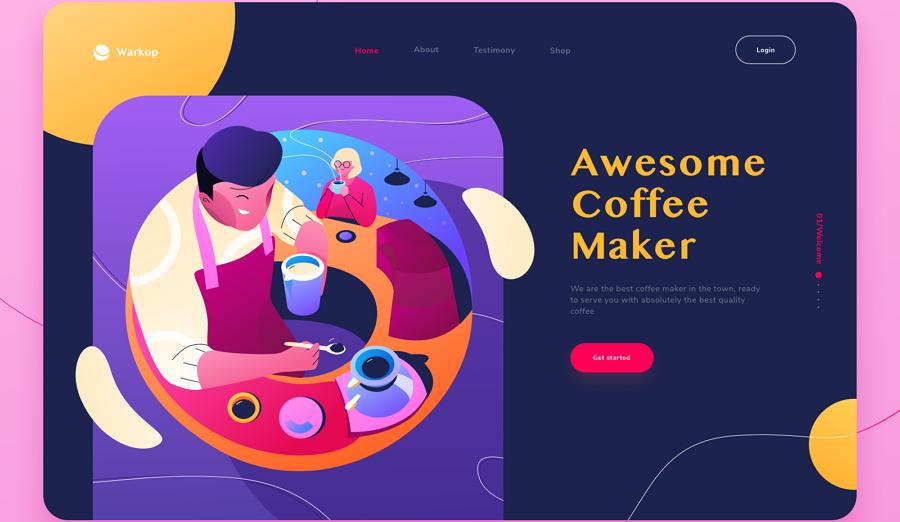 Coffee Maker Website