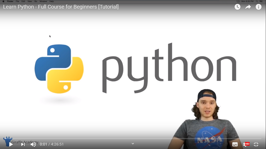 Lean Python -Full Course for Beginners