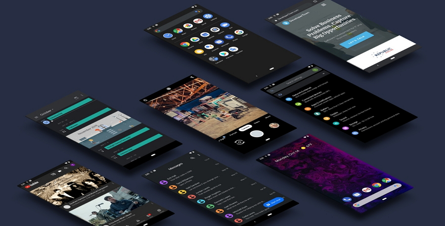 Free Android 10 UI Kit