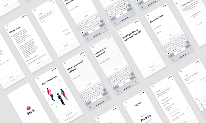 Free Stack UI Kit Sketch Resource