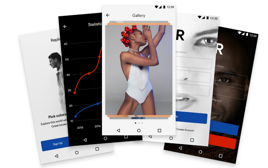 Relica Android UI Kit