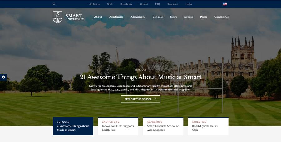 Smarty School Kindergarten Website Template