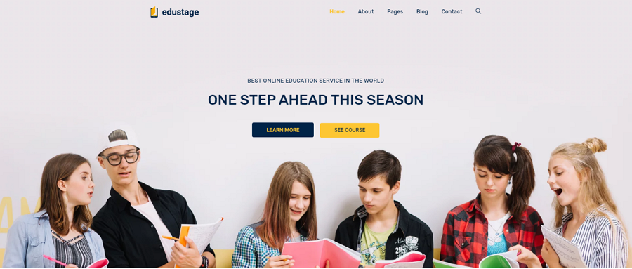 Edustage Free Bootstrap Responsive Education Website Template