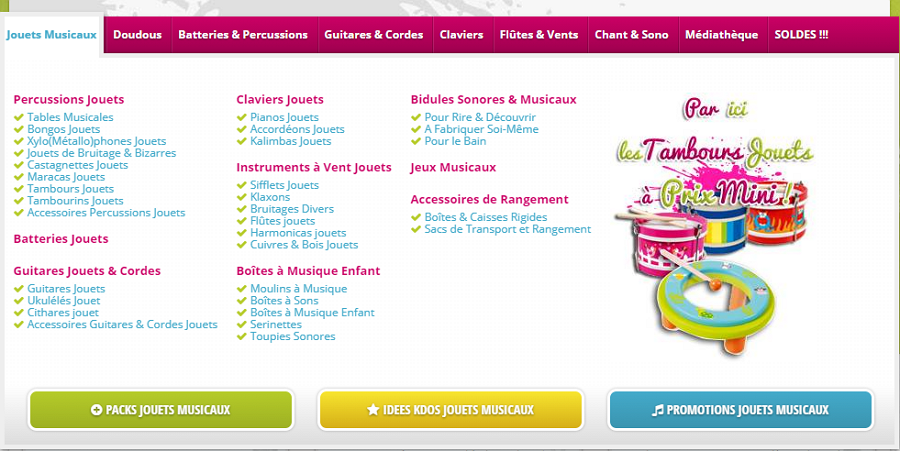 Noizikidz Music Equipment Website