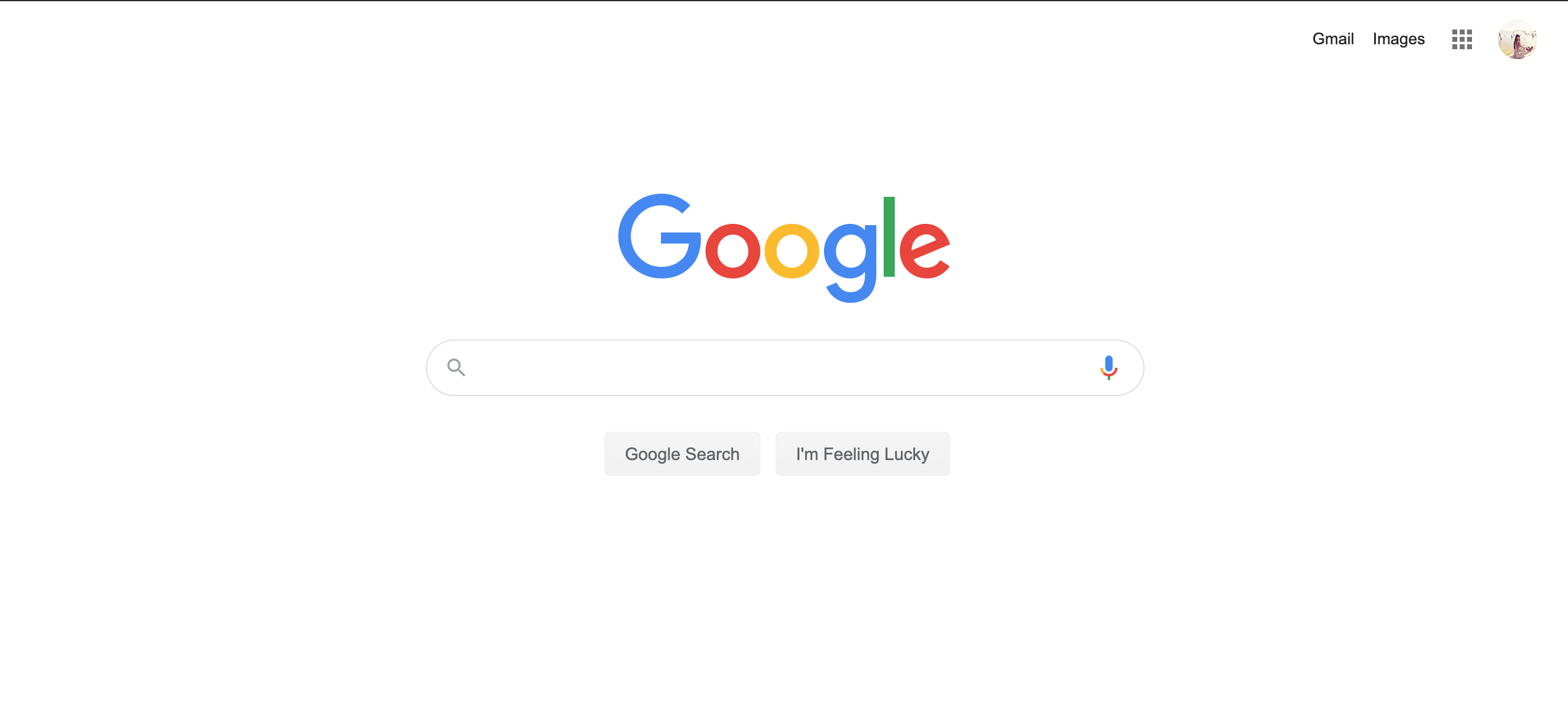 Google new website