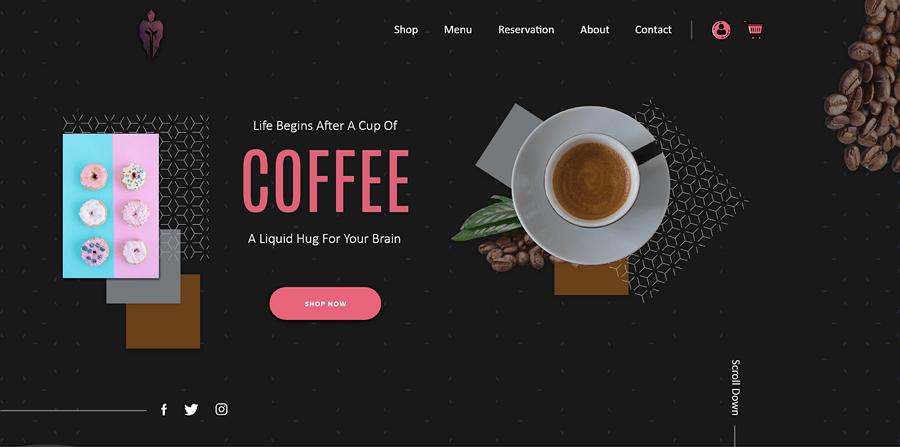 Cafée Website