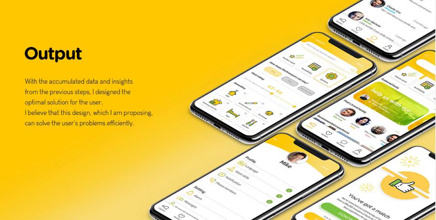 Workaway App - UX redesign