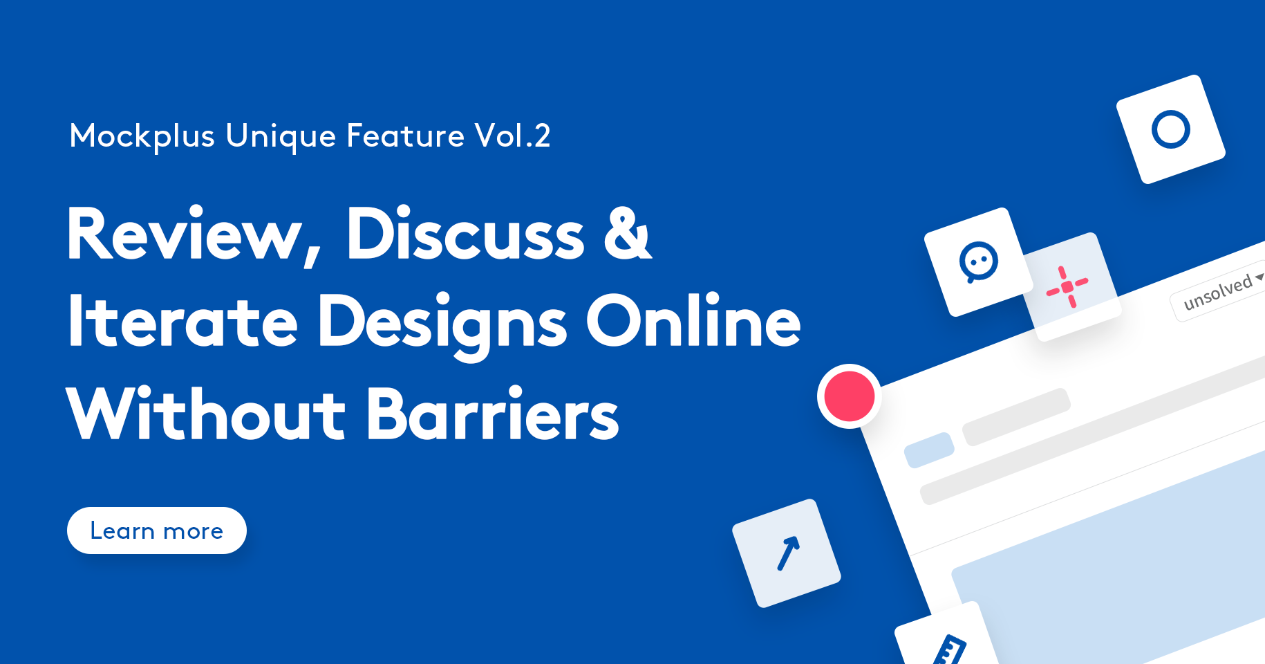 How To Comment & Discuss Designs Without Barriers Using Mockplus Cloud