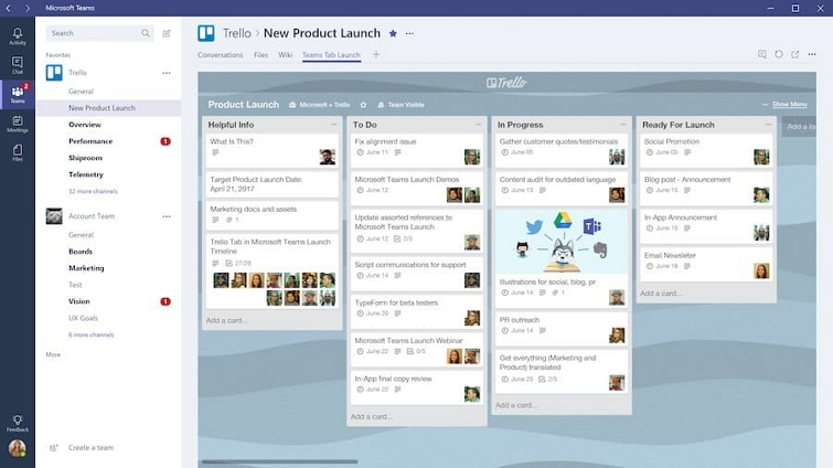 Online collaboration tool - Trello