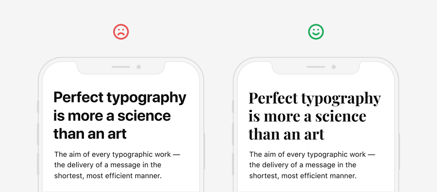 Fonts Affect the Readability of Your App Pages