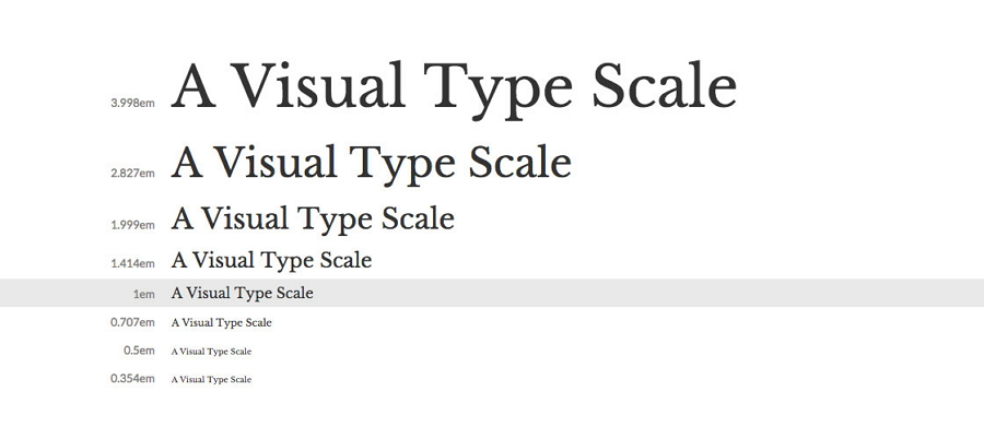 Font Scale