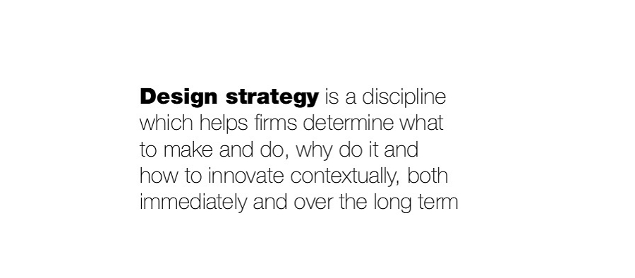 What Is Design Strategy