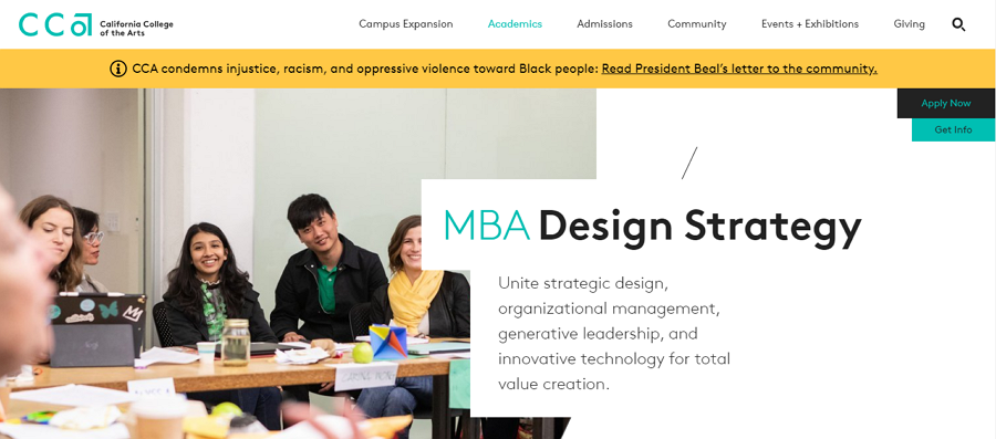 MBA Design Strategy
