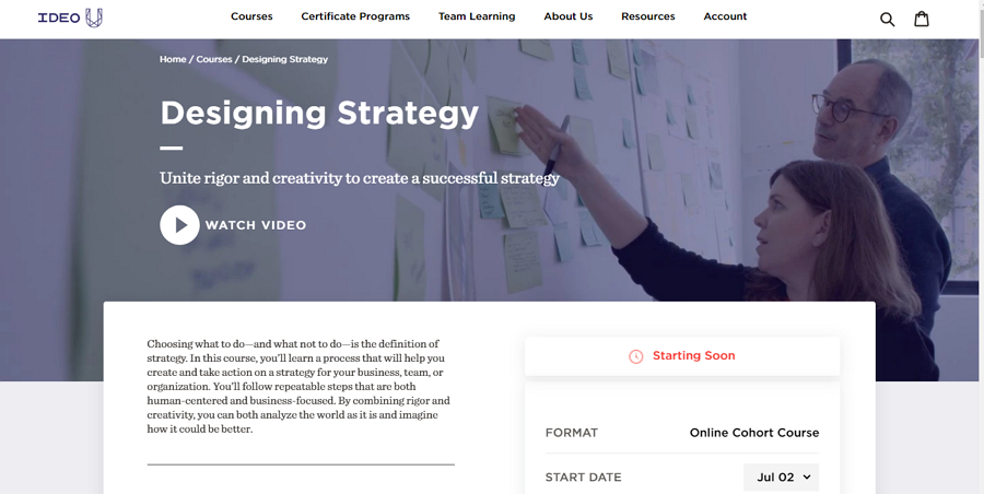 Designing Strategy