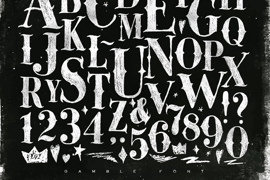 Gamble font