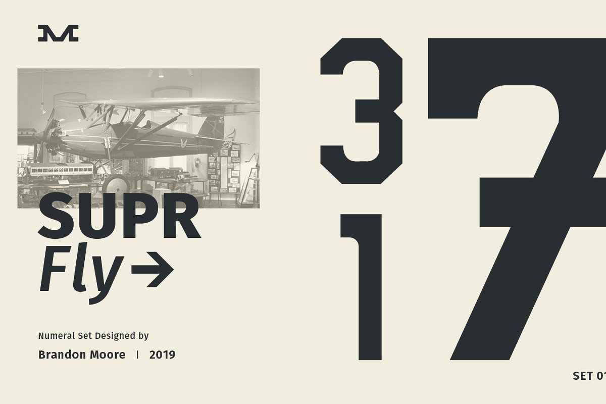Supr fly numerical set