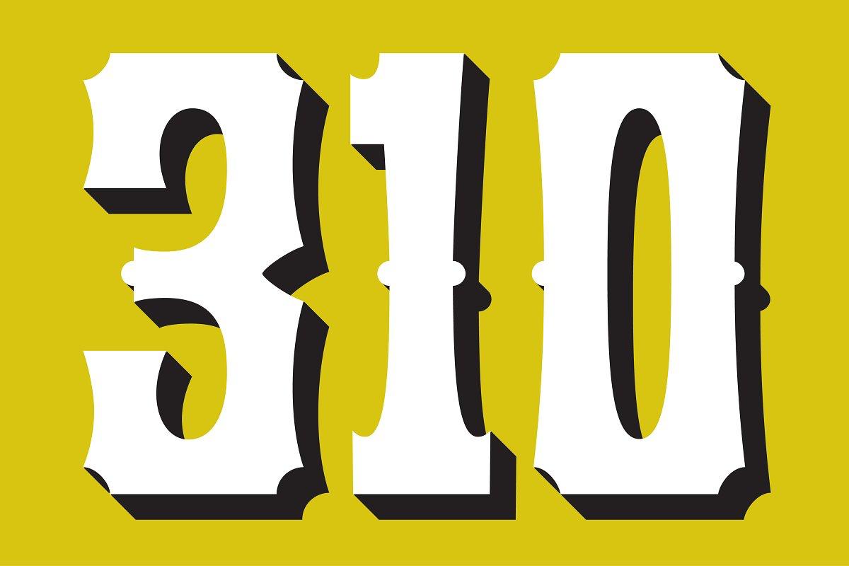 Yuma font