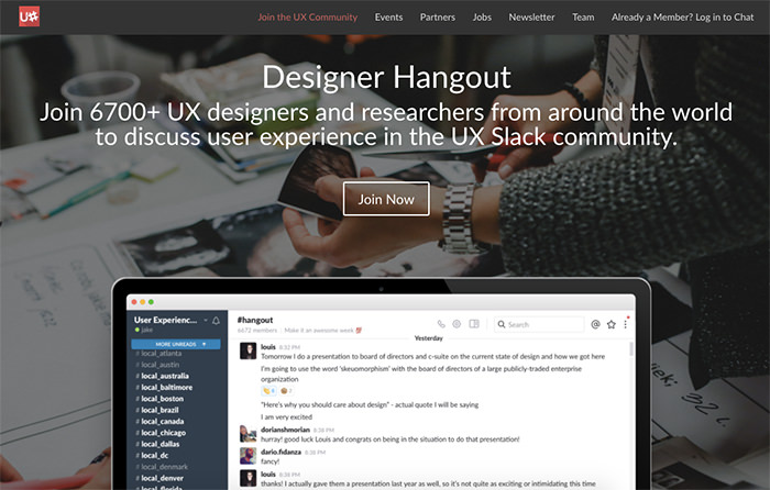 Designer Hangout