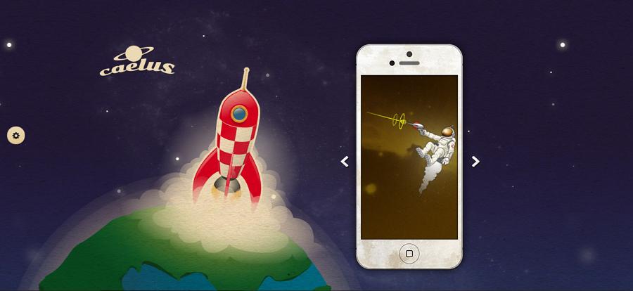 Caelus Website App Template