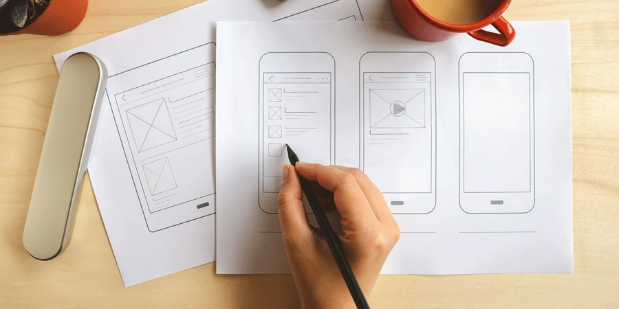 Sketch Your Wireframe on Paper