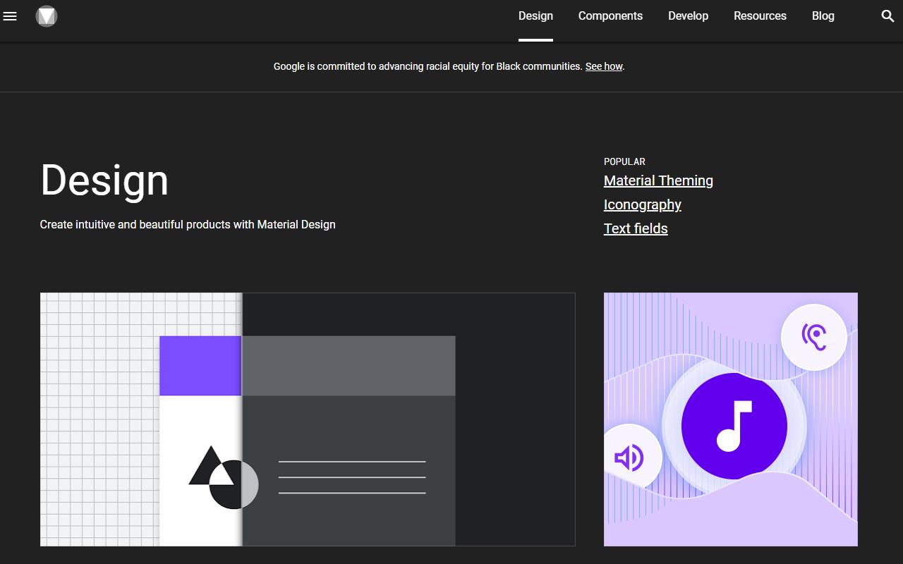 Material Design Blog