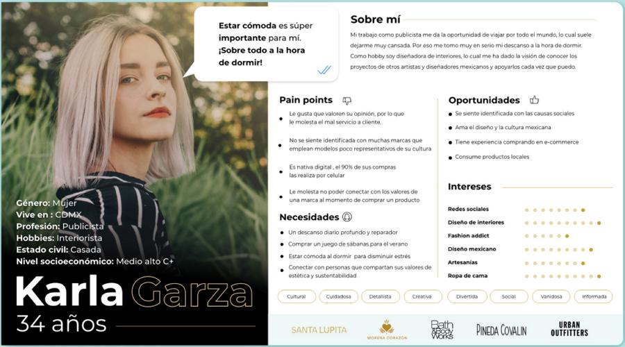 Karla Garza User Persona