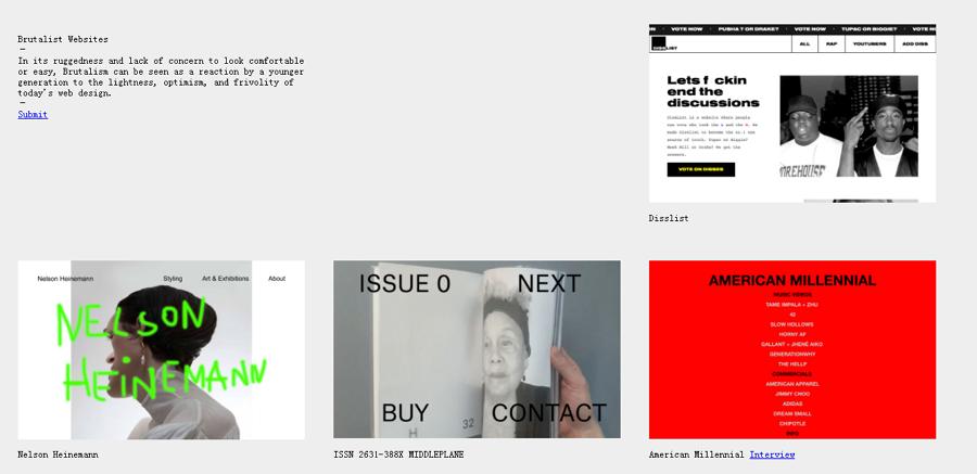 Brutalist Website