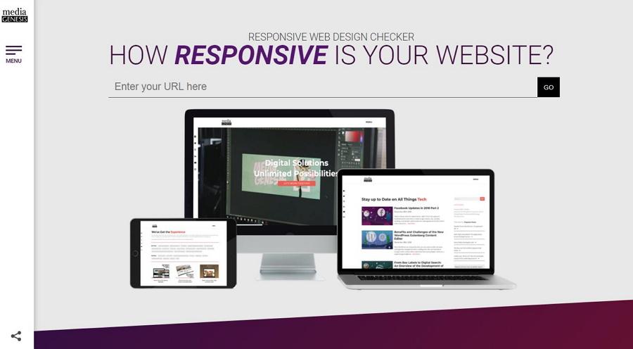 Responsive Website Design Tester