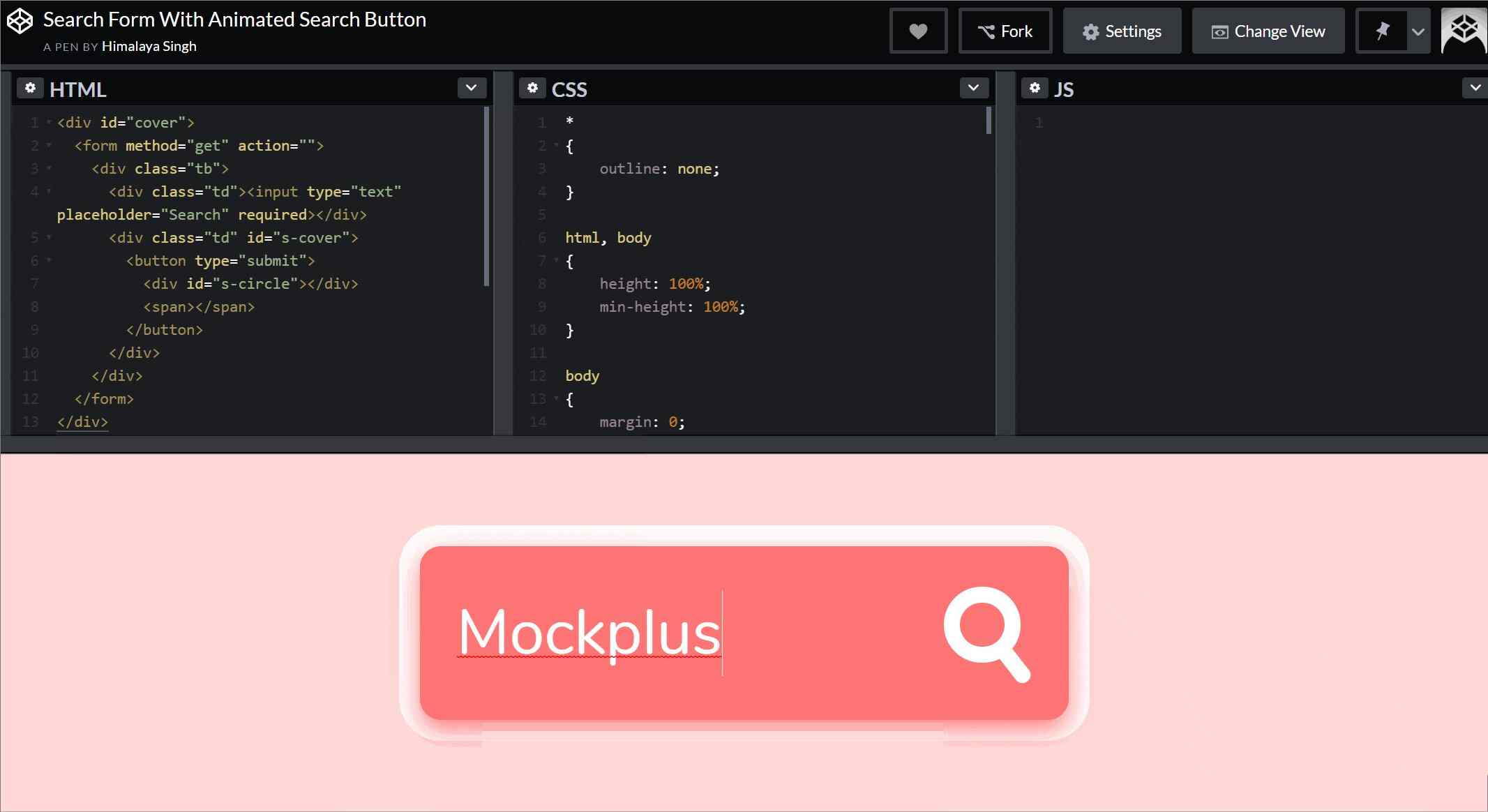 20 Creative Search Bar Design Inspirations With Html Css Bootstrap