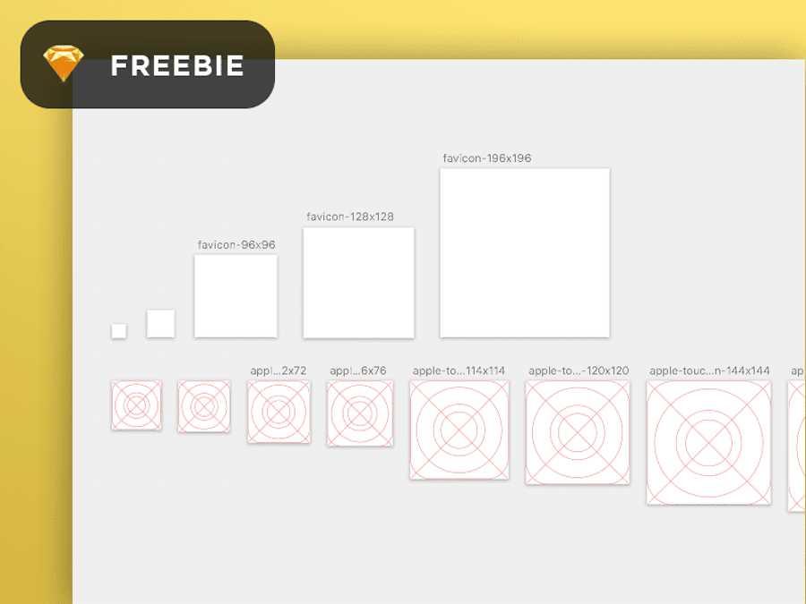 Favicon/iOS icon template