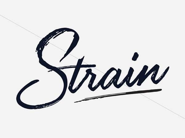 Strain Free Font