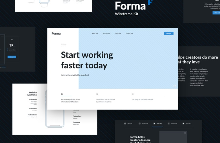 Forma Wireframe Kit