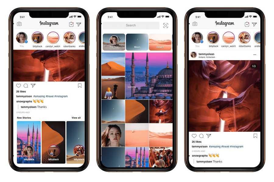 Instagram App Template 2019